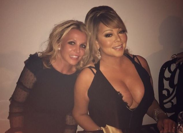 Britney Spears and Mariah Carey met at a dinner party and it's everything we dreamed it would be