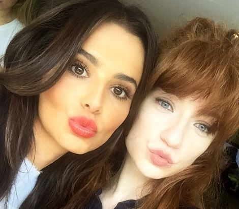 Nicola Roberts shares selfie with Cheryl as they support Game 4 Grenfell