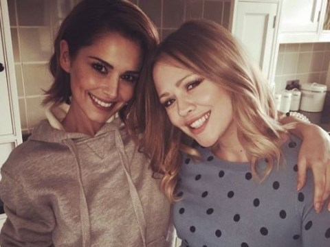 Girls Aloud besties Kimberley Walsh and Cheryl are praising each other again