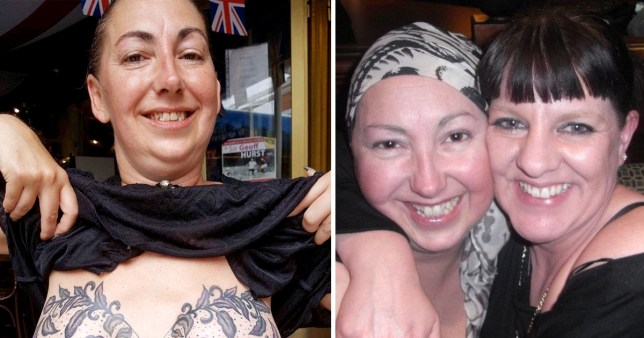 Mum Who Battled Breast Cancer Gets Beautiful Optical Illusion Bra Tattoo Metro News