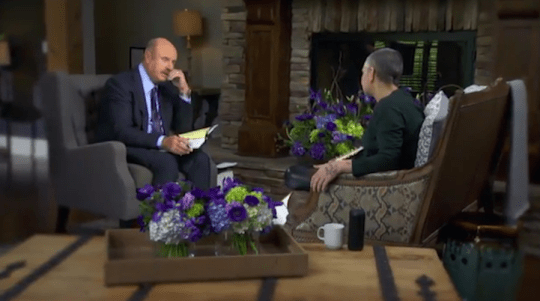 Sinead O'Connor abuse claims made in emotional Dr Phil