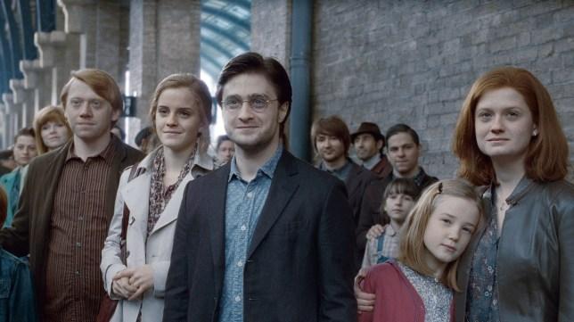 JK Rowling celebrates Harry Potter's son arriving at