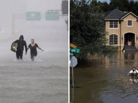 Houston sank by 2cm because of sheer weight of rain from Hurricane Harvey