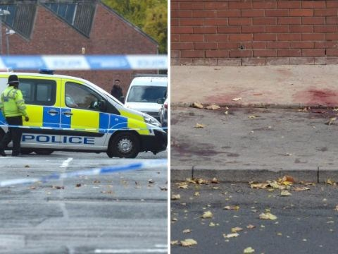 Boy, 14, fighting for his life after being stabbed outside mosque