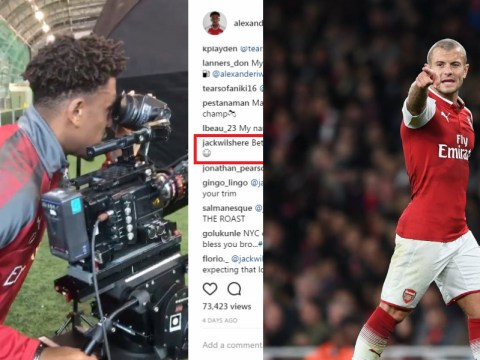 Jack Wilshere superbly trolls Alex Iwobi with 'heading skills' comment on Instagram