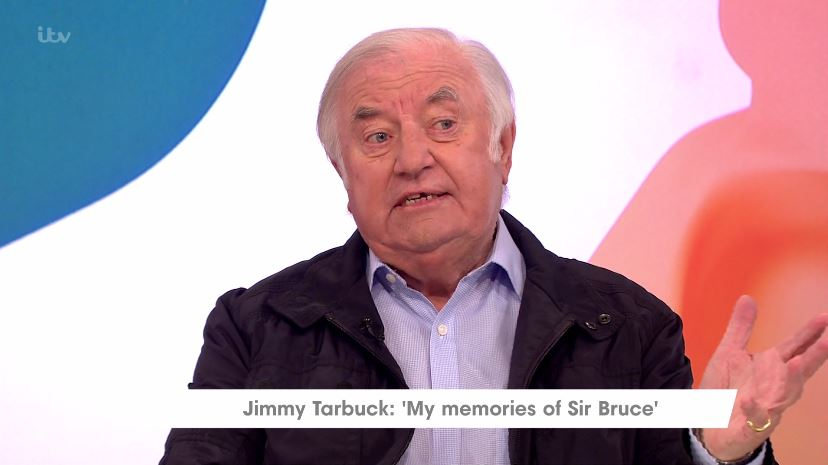 Jimmy Tarbuck recalls last meeting with Bruce Forsyth: 'He was looking forward to going back to work'
