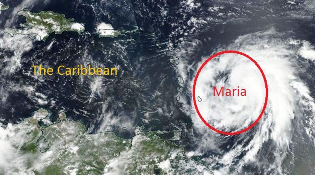 Hurricane Maria could hit islands already wrecked by Hurricane Irma