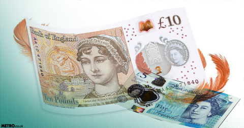 Here's how to tell if your new Jane Austen £10 is worth a fortune
