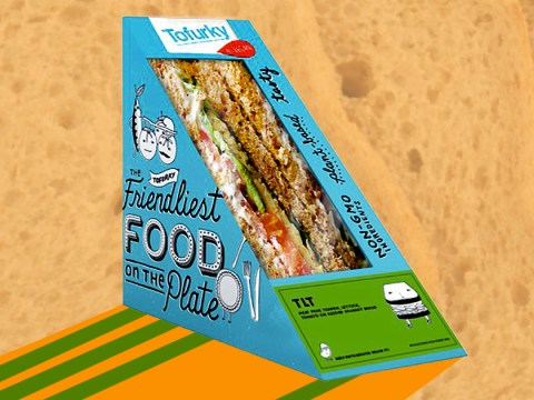 Tofurky is launching a range of vegan pre-packed sandwiches in the UK from next week