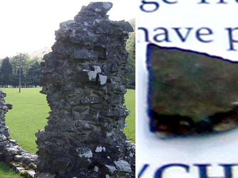 Thief returns historic stone to abbey because it was 'haunting him'