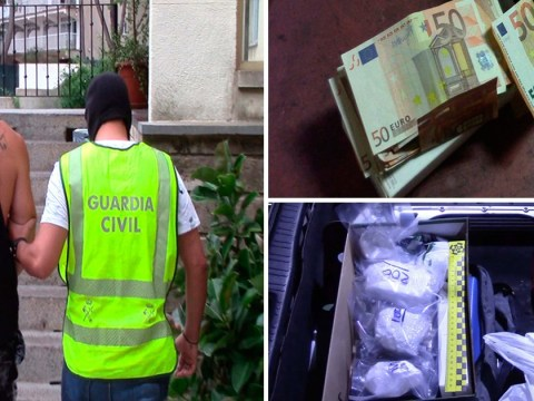 Brits arrested after £150,000 worth of cocaine found in Magaluf police raid