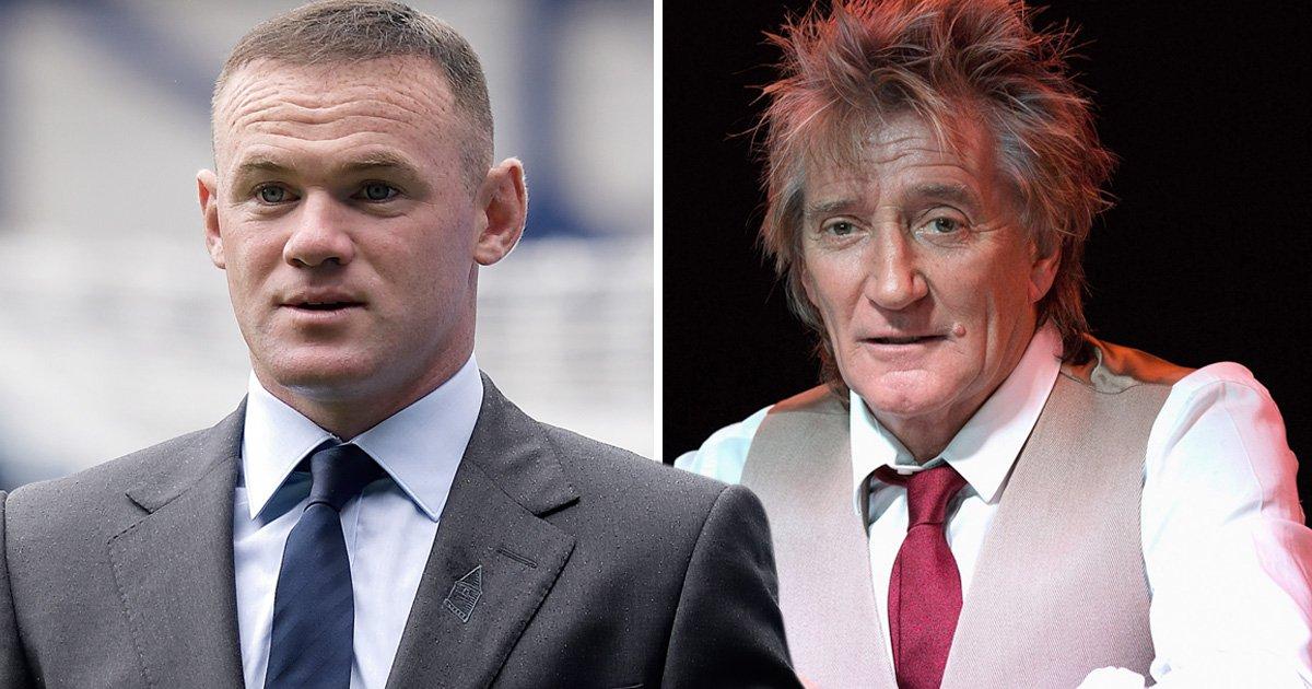 Rod Stewart defends Wayne Rooney in wake of drink-driving scandal 'We all make mistakes'