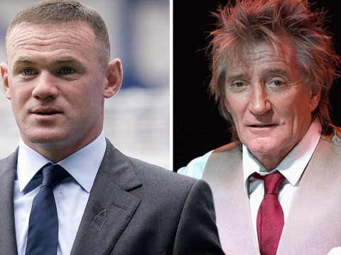 Rod Stewart defends Wayne Rooney in wake of drink-driving scandal 'We all make mistakes'