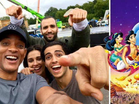 A Whole New World as Will Smith shares first picture of Aladdin cast