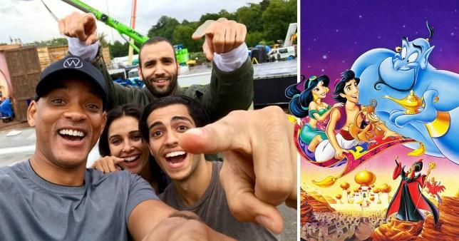 Meet The Aladdin Cast Will Smith And Naomi Scott Among Disney