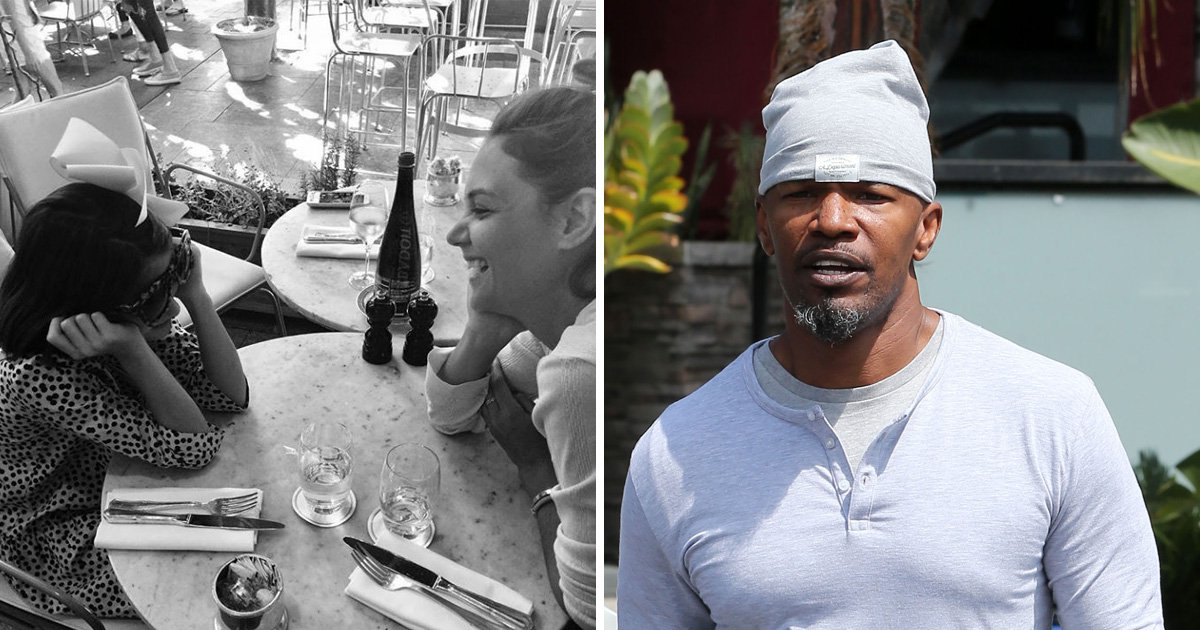 Katie Holmes and Jamie Foxx play it cool in first pictures since relationship reveal