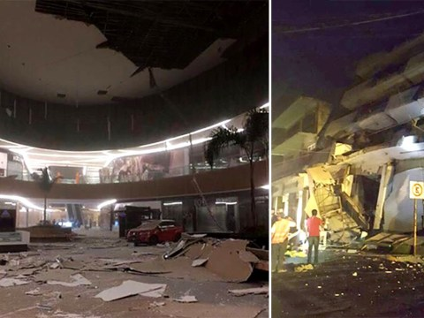Most powerful earthquake in 230 years hits Mexico sparking tsunami