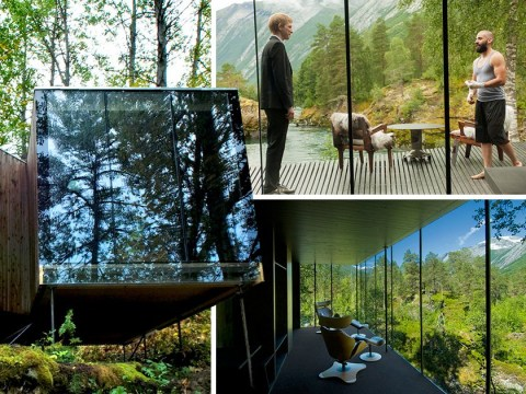 The house from 'Ex Machina' is actually a stunning Norwegian hotel