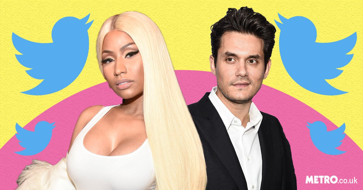 John Mayer and Nicki Minaj's flirty Twitter exchange is everything