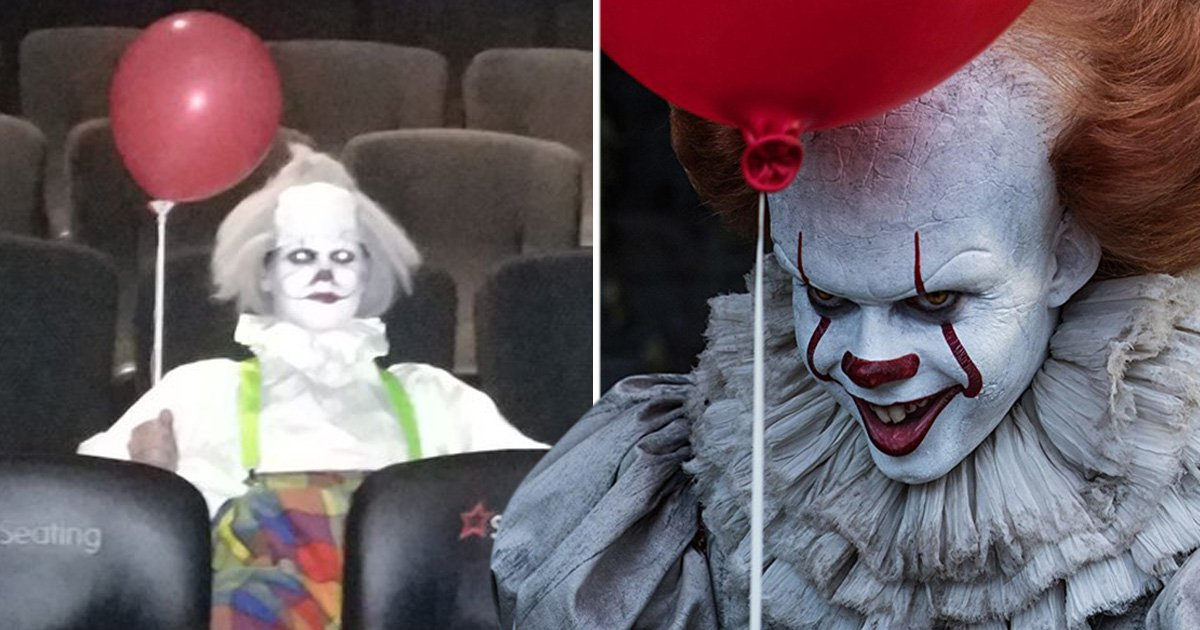 Clowns are turning up to It screenings and everyone's freaking the hell out