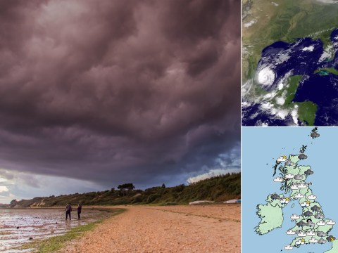 Britain battered by wet weather as hurricane remnants head to UK