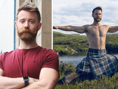 Kilted yoga instructor fears he is target of homophobic abuse after tyres are slashed