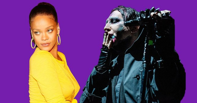 Marilyn Manson Claims Rihanna Is Dangerous  Metro News-8449