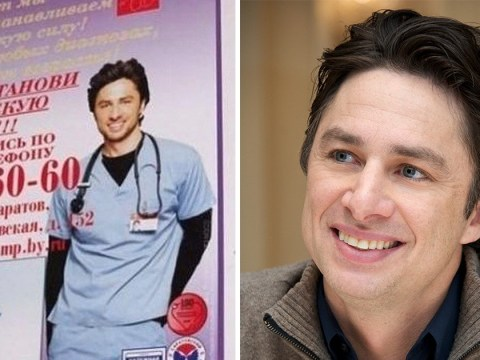 Zach Braff discovers he's advertising erectile dysfunction pills in Russia one week after selling computers