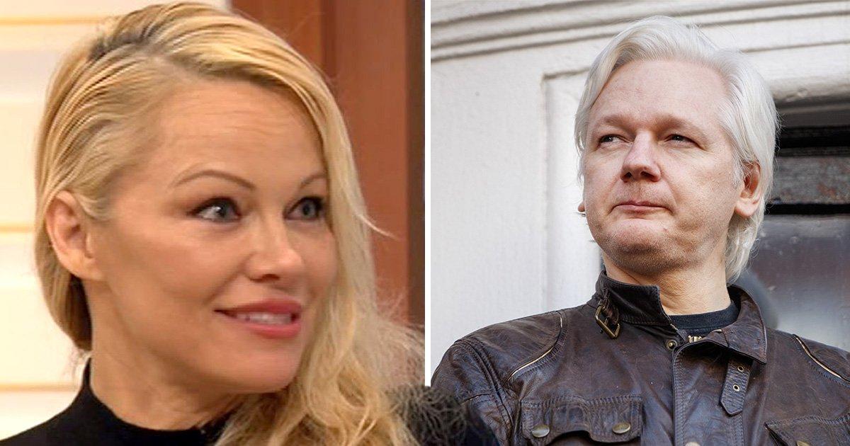 Inside Pamela Anderson and Julian Assange's relationship