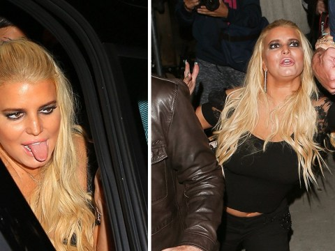 Jessica Simpson is less Newlyweds, more Geordie Shore on raucous night out