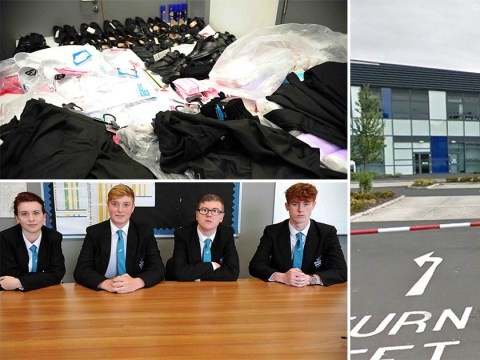 School won't back down over strict uniform rules after 87 children are sent home