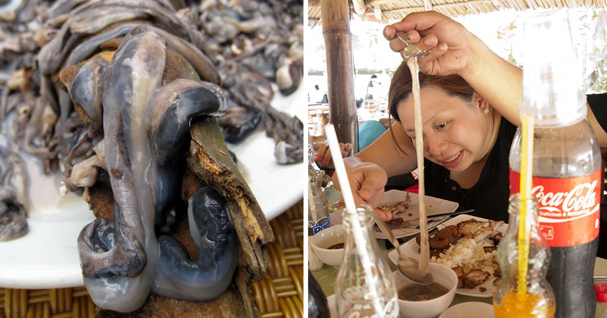 Are you brave enough to try one of The Philippines' most grim looking delicacies?