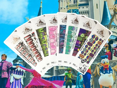 You can now have Sleeping Beauty inspired nails with these Disney nail wraps