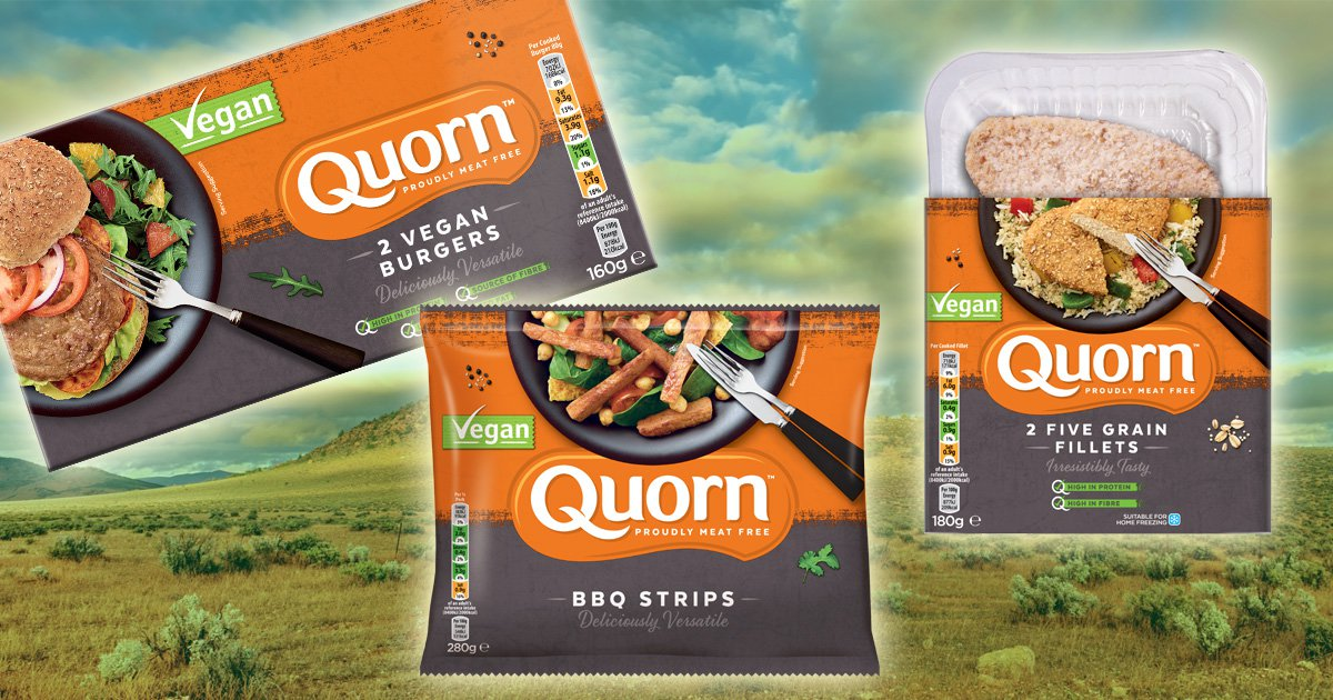 What is quorn made of?