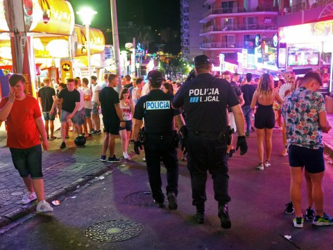 Hunt for 'British man' after three are stabbed in Magaluf
