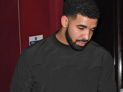 KMT! Drake hits the town with rapper Giggs – but where was our invite?