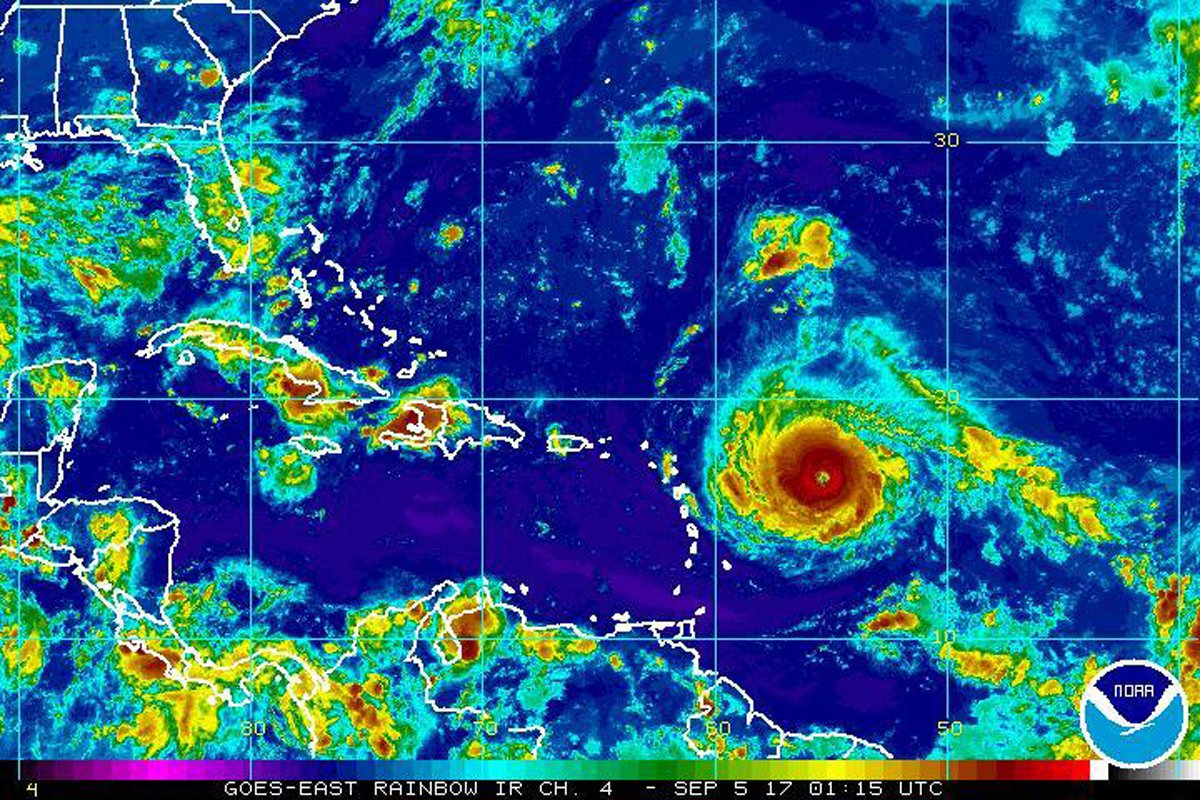Track Hurricane Irma as its path heads to Florida and the US Caribbean