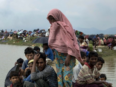 Aid services pushed to the brink as Rohingya people flee slaughter