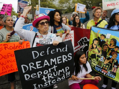 'No deal' made on DACA as Trump says wall is 'already under construction'
