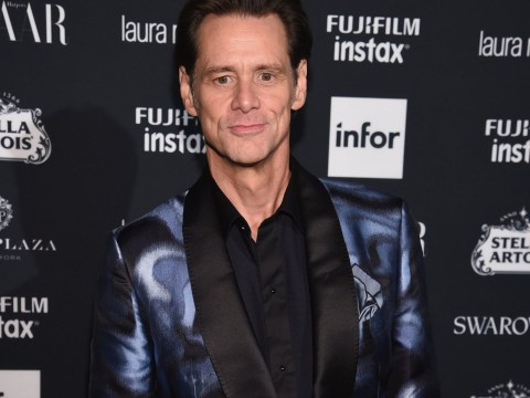 Jim Carrey shaves off his beard and looks decades younger