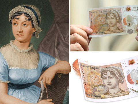 She is the face of the new £10 note, but Jane Austen couldn't care less about money