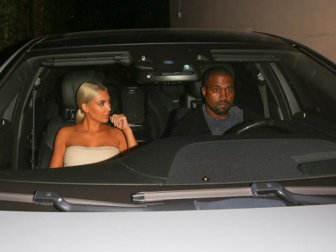 Kim Kardashian has only got eyes for Kanye West while the rest of the world calls them miserable