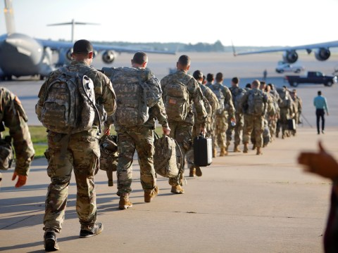 15 soldiers injured by explosion at US military base