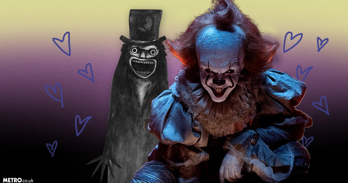 It's Pennywise the clown and The Babadook are lovers, according to horrifying rumours