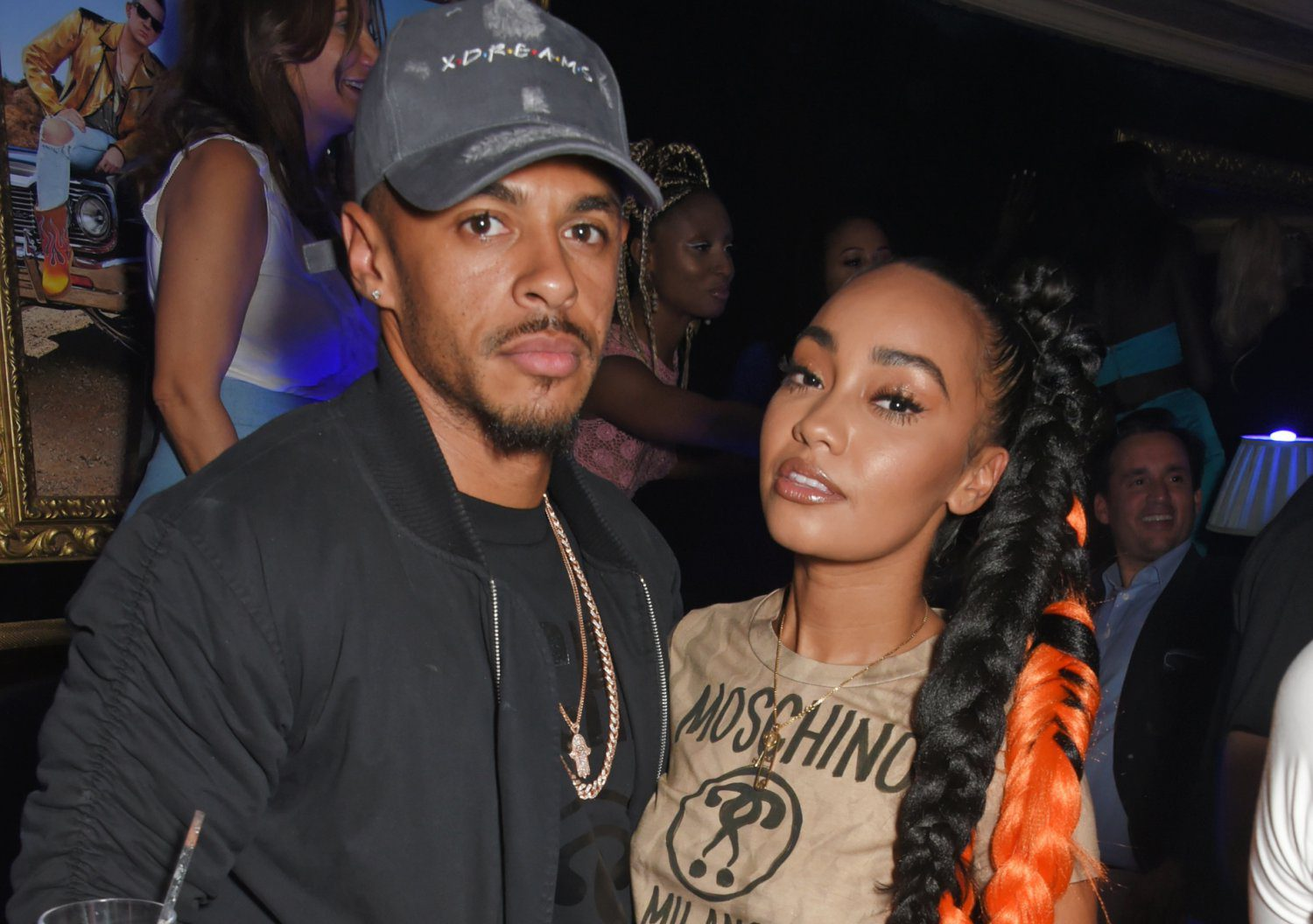 Little Mix's Leigh-Anne Pinnock attends party with boyfriend Andre Gray to celebrate start of London Fashion Week