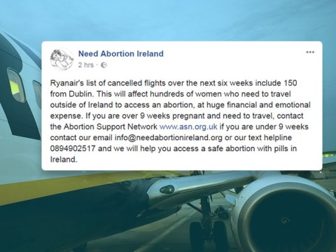 Ryanair cancellations will affect Irish women travelling for abortions