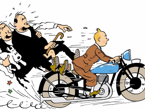 Incredible claims Tintin was in fact a girl sends web crazy