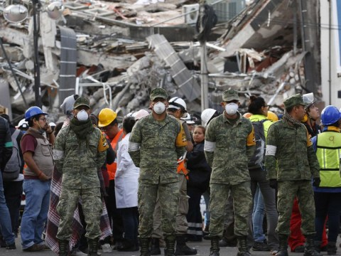 Powerful aftershock hits Mexico City days after deadly earthquake