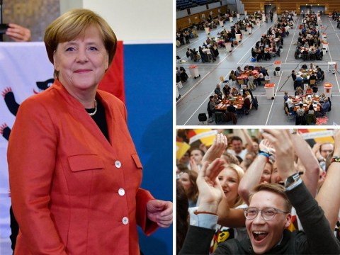 Angela Merkel set to win German election and begin fourth term as chancellor