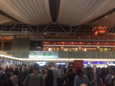 Check-in systems crash causing chaos at airports across the world